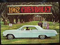 1962 Chevrolet dealer showroom catalog   Impala  Bel Air