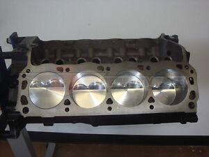 ford  stroker short block sbf  flat top probe pistons    cr