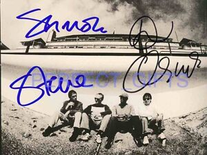 OCEAN COLOUR SCENE OCS FOWLER CRADOCK HARRISON SIGNED 10x8 PP REPRO PHOTO PRINT