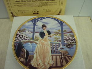 Collectors Plate and Porcelain Figurine