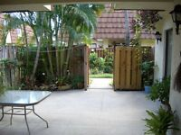 3 bedroom vacation townhouse with privacy fence, heated pool