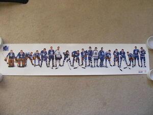 "FS: Toronto Maple Leaf ""ALUMNI"" Promotional Sheet"
