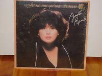 Album vinyl, Ginette Reno, JE SUIS COMME UNE CHANSON