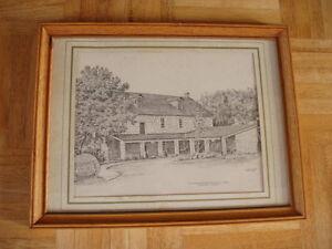 Ancaster Old Mill sketch Oakville / Halton Region Toronto (GTA) image 1