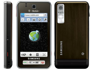 New-Samsung-Behold-T919-3G-GPS-Unlocked-Cell-Phone-Brown
