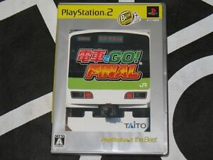 Playstation-2-PS2-Import-Game-Densha-De-Go-Final-Best-Japan