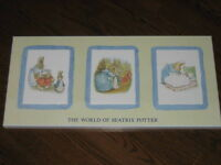 """The world of Beatrix Potter"" laminated print"