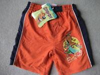 BRAND NEW Scooby-Doo Swim Trunks - Size 4