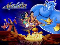 Cialda Per Compleanno Aladdin Aladino Ostia Formato A4 Torta -  - ebay.it