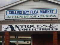 COLLINS BAY FLEA MARKET HAS CHANGED!!