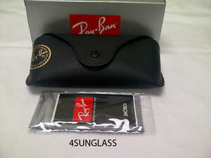 RAYBAN sunglass CASE and cloth