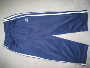 ADIDAS BOYS ATHLETIC PANTS - SIZE 4