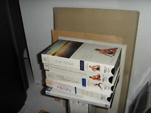 Yoga and Stress Relief - 4 videotapes and 1 dvd