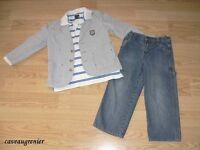 4 SOURIS MINI THE CHILDREN PLACE hiver garcon 7 8ans +$200