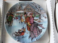 Skaking On The Pond Collector Plate 1990