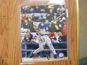 FS: 2002 Raul Mondesi (Toronto Blue Jays) Autographed Photo London Ontario image 1