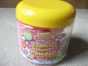 BRAND NEW - Little Critters Foaming Bath Powder
