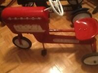 Antique kids Pedal Tractor Car