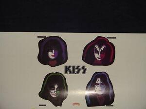KISS memorabilia (Uncut slicks)