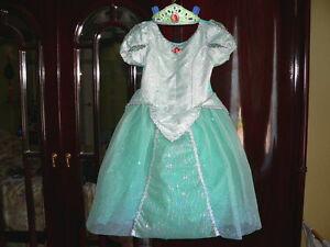 Princesse Ariel Little Mermaid déguisement DISNEY 5 6 7 haloween
