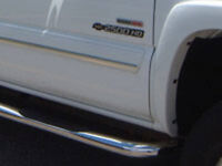 STAINLESS SIDE STEP BARS/ RUNNING BOARDS...PICKUP TRUCKS/ SUV'S.