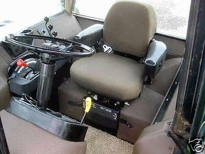 Brown Fabric Seat Cushion Set John Deere 4030423046304040444046404840 Ox