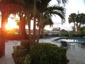 Condo Floride West Palm Beach (vue sur le Mangonia Lake)