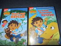 3 Diego DVD's.