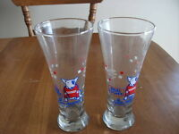 Spuds MacKenzie Bud Light Glass