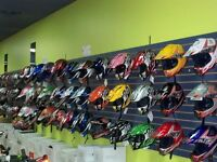 CASQUE MOTOCROSS SCOOTER $49.99!! MINI MOTO DEPOT 514-967-4749