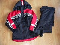 ALPINE TEK NASCAR manteau d'hiver hiver garcon 14 ans neufs $200
