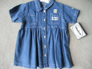 BRAND NEW - Weebok Denim Dress (18 Mos)