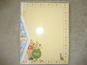 BRAND NEW Classic Winnie the Pooh Stationery
