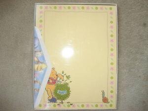 BRAND NEW Classic Winnie the Pooh Stationery