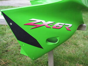 ZX6R 1998-99  2000-2002 KAWASAKI STOCK FACTORY UPPER
