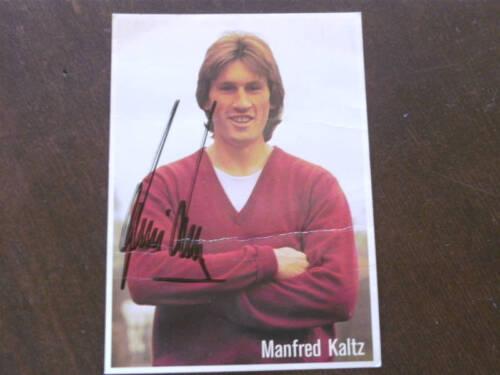 Autogramme Vom Hsv Manfred Kaltz Autogramm Hsv