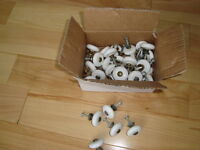 Kitchen/Bath Cabinet Knobs - Used in Great shape- All 31 for $19