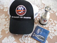 New York Islanders Cap and Cup