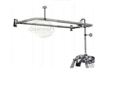 ADD-A-SHOWER  CLAWFOOT  FAUCET 4 CLAW FOOT TUB W/DRING on Rummage
