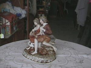ANTIQUE FIGURINES OF MAN AND LADY Belleville Belleville Area image 2