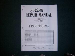 Ford Overdrive Repair Manual  1949 50 51 52 53 54 55 56 57 58 59 London Ontario image 1