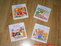 4 MY DAY BOARD BOOK RARE preschool children ENGLISH lot