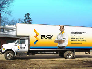 Riteway Moving & Storage (Awarded Best Moving Company)7809387483 Edmonton Edmonton Area image 1