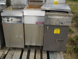 REDUCED TO CLEAR 1 USED  Stainless Steel Fryers $100.00 each