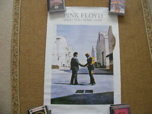 """FS: Pink Floyd's """"Wish You Were Here"""" Promo Litho Sheet London Ontario image 1"""