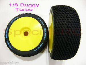 Louise-RC-1-8-Turbo-L-T3104VY-Very-Soft-2pcs-Premounted-w-Yellow-Dish-Wheel