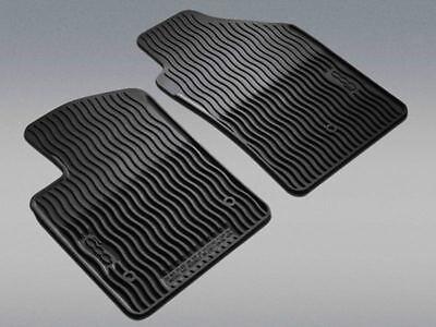 FIAT 500 Front Slush Floor Mats Black OEM