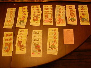 Vintage Deck of Snap Cards