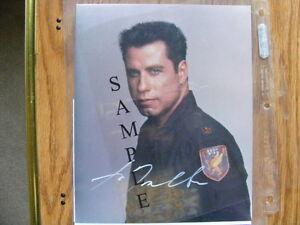 "FS: John Travolta 8x10 ""Autographed"" Photos"