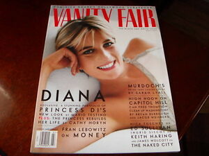 Vanity Fair July 1997 Princess Diana Photos by Mario Testino
